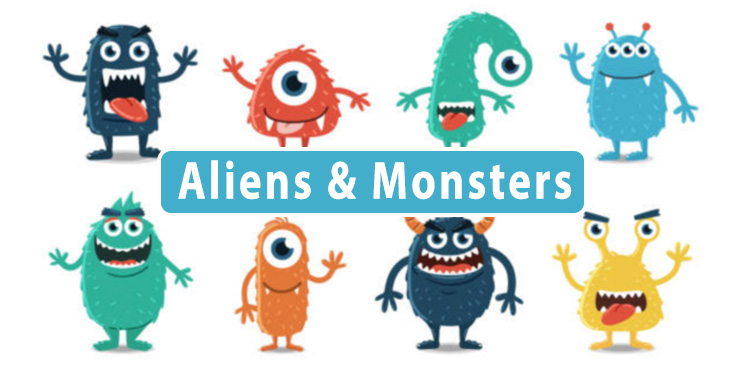 Alien themed toys wholesale