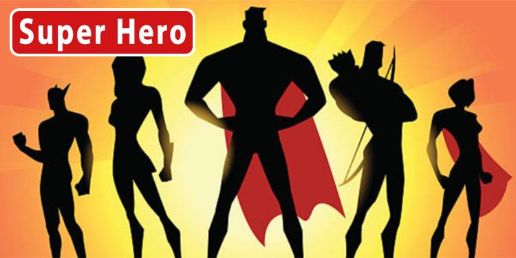 Super hero wholesale