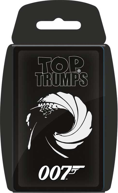 Wholesalers of Top Trumps - 007 toys