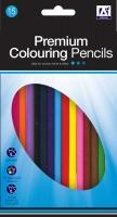 Wholesalers of 15 Premium Colouring Pencils toys image