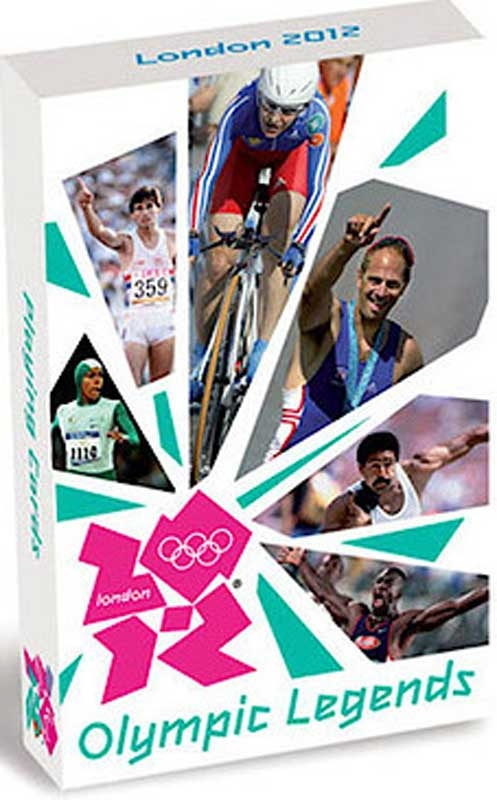 Wholesalers of 2012 Olympic Legends-playing Cards toys