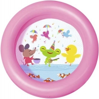 Wholesalers of 24 Inch X 6 Inch Round 2 Ring Kiddie Pool toys image 2