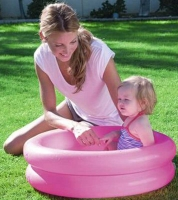Wholesalers of 24 Inch X 6 Inch Round 2 Ring Kiddie Pool toys image 3