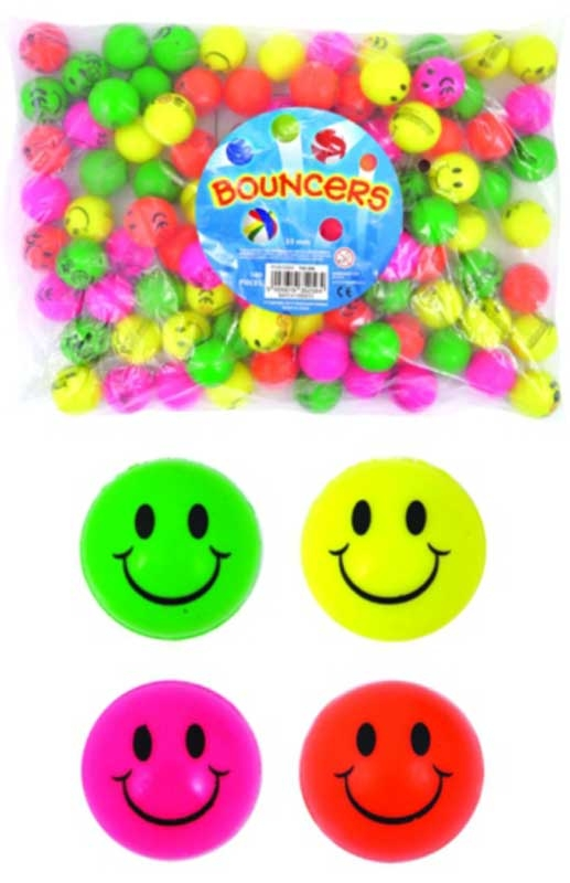 Wholesalers of 3.5cm Neon Smile Balls toys