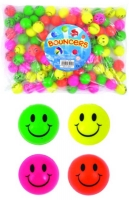 Wholesalers of 3.5cm Neon Smile Balls toys image