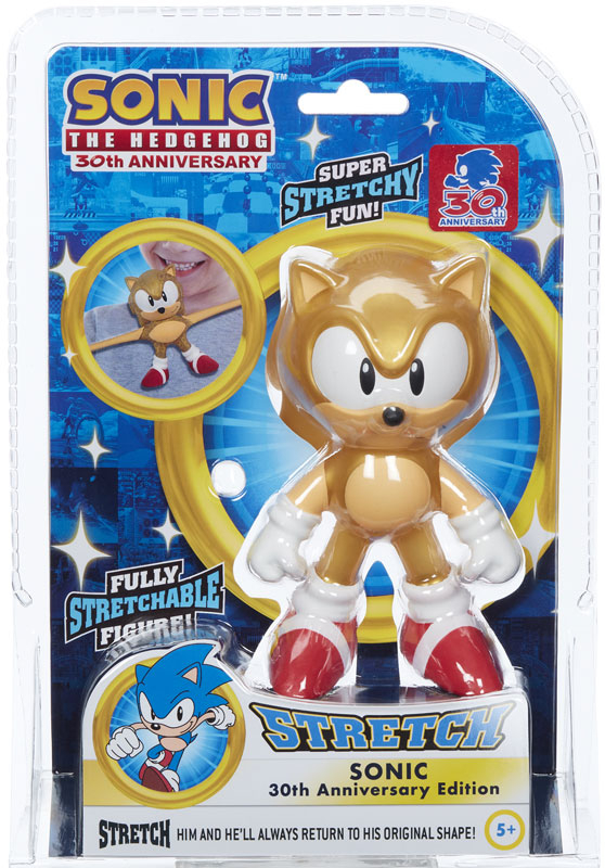 Wholesalers of 30th Anniversary Mini Stretch Sonic toys