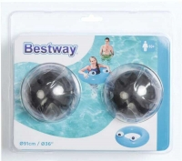 Wholesalers of 36 Inch Big Eyes Swim Ring toys image 2