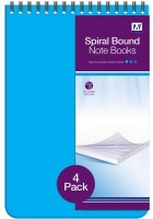 Wholesalers of 4 Spiral Bound Notebooks toys image