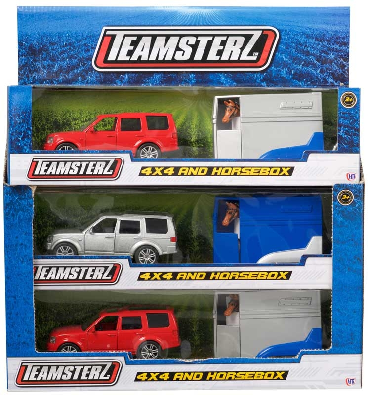 Wholesalers of 4 X 4 And Horse Box toys