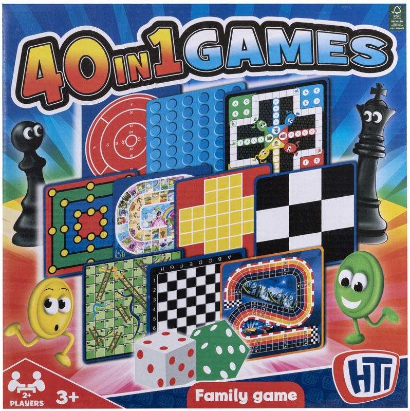 Wholesalers of 40 In 1 Games toys