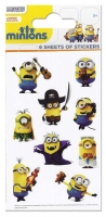 Wholesalers of Minions 6 Sheet Party Stickers toys image