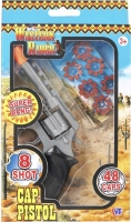 Wholesalers of 8 Shot Cap Pistol toys image