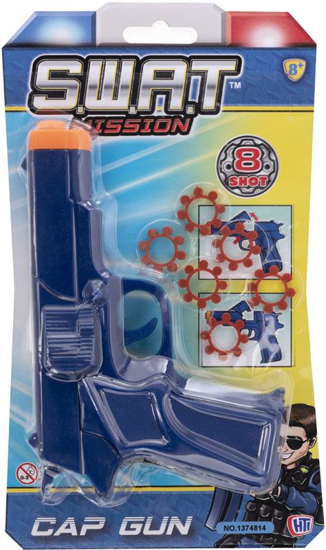 Wholesalers of 8 Shot Cap Revolver toys