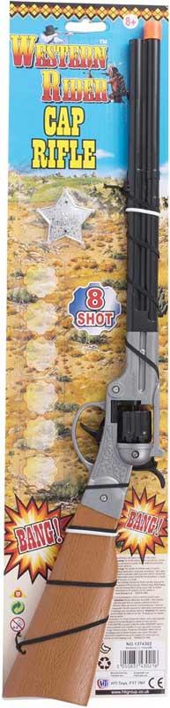 Wholesalers of 8 Shot Cap Rifle toys