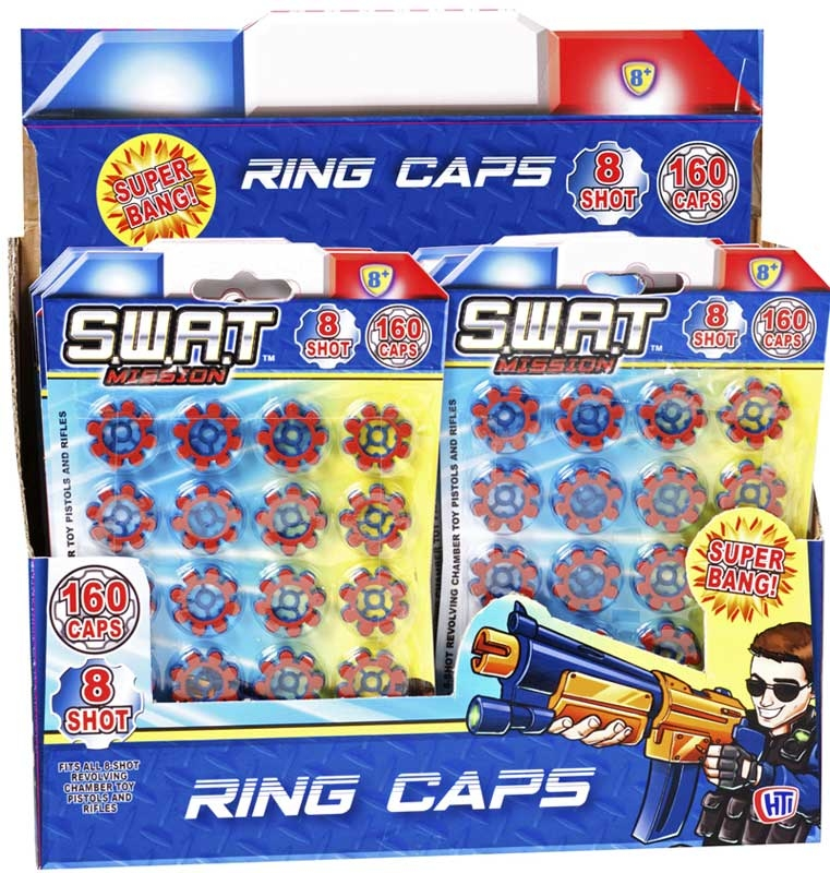Wholesalers of 8 Shot Ring Caps toys