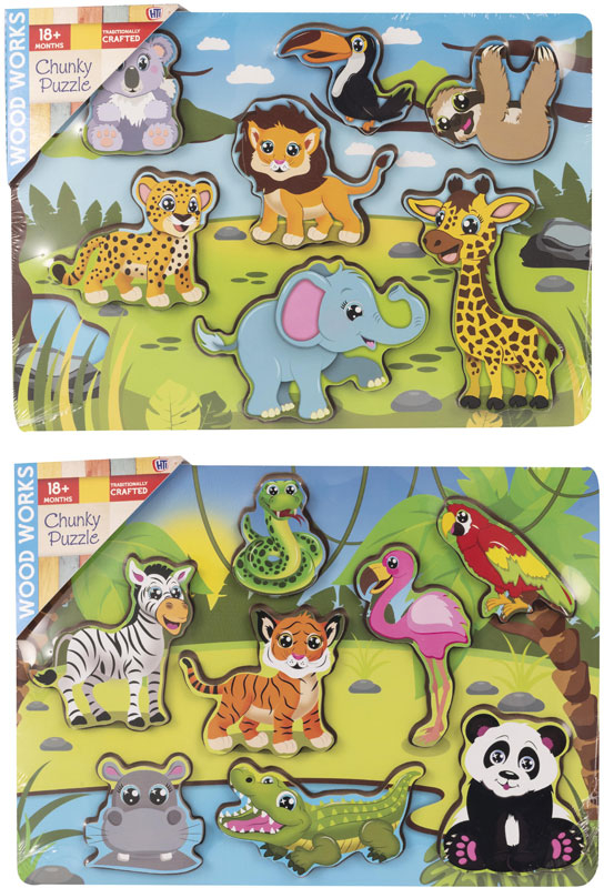 Wholesalers of Adventure Chunky Puzzle Asst toys