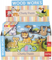 Wholesalers of Adventure Chunky Puzzle Asst toys image 2