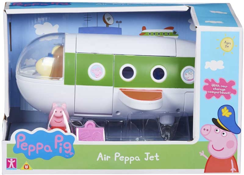 Wholesalers of Air Peppa Jet toys