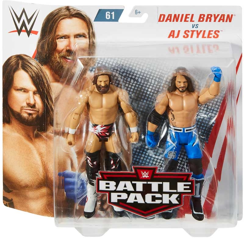 Wholesalers of Aj Styles & Daniel Bryan toys