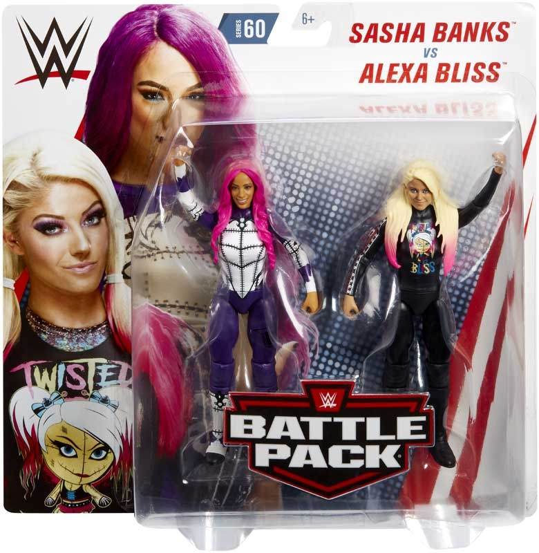 Wholesalers of Alexa Bliss & Sasha Banks toys