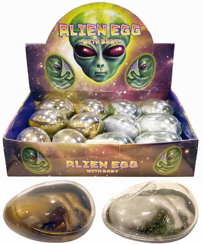Wholesalers of Alien Egg With Baby Large toys