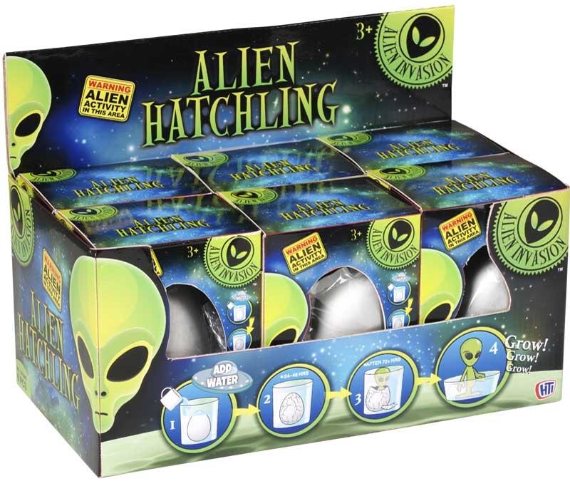 Wholesalers of Alien Hatchling Egg Large toys
