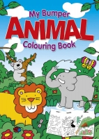 Wholesalers of Animal Jumbo Colouring Book toys image