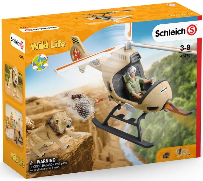 Wholesalers of Schleich Animal Rescue Helicopter toys