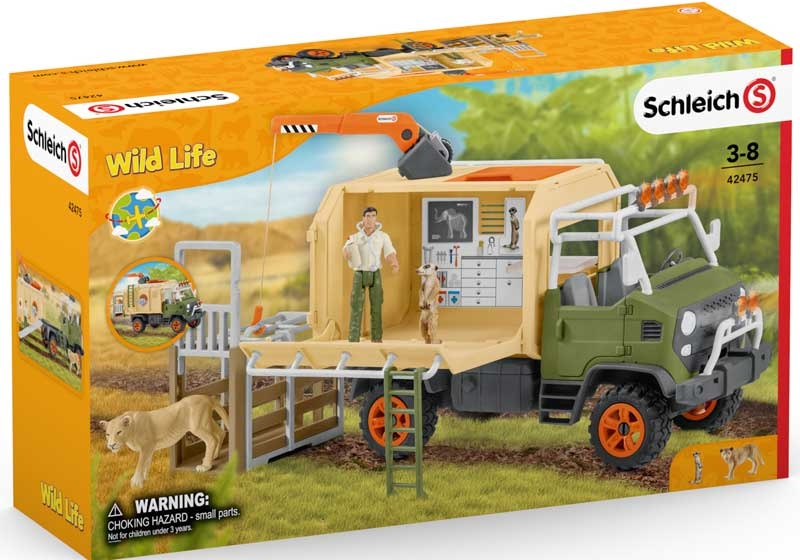 Wholesalers of Schleich Animal Rescue Large Truck toys