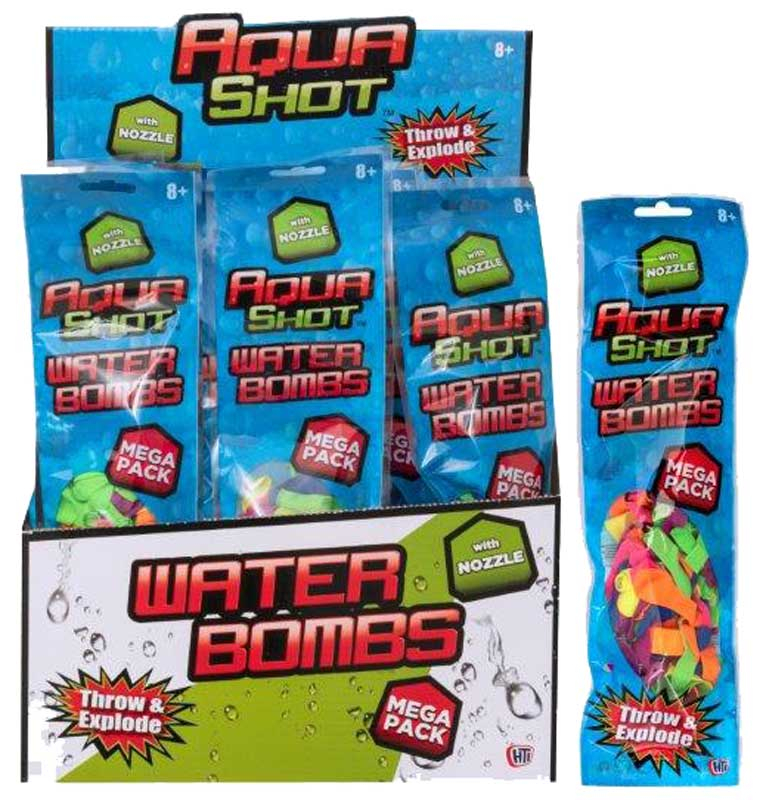Wholesalers of Aqua Shot Waterbombs With Nozzle toys