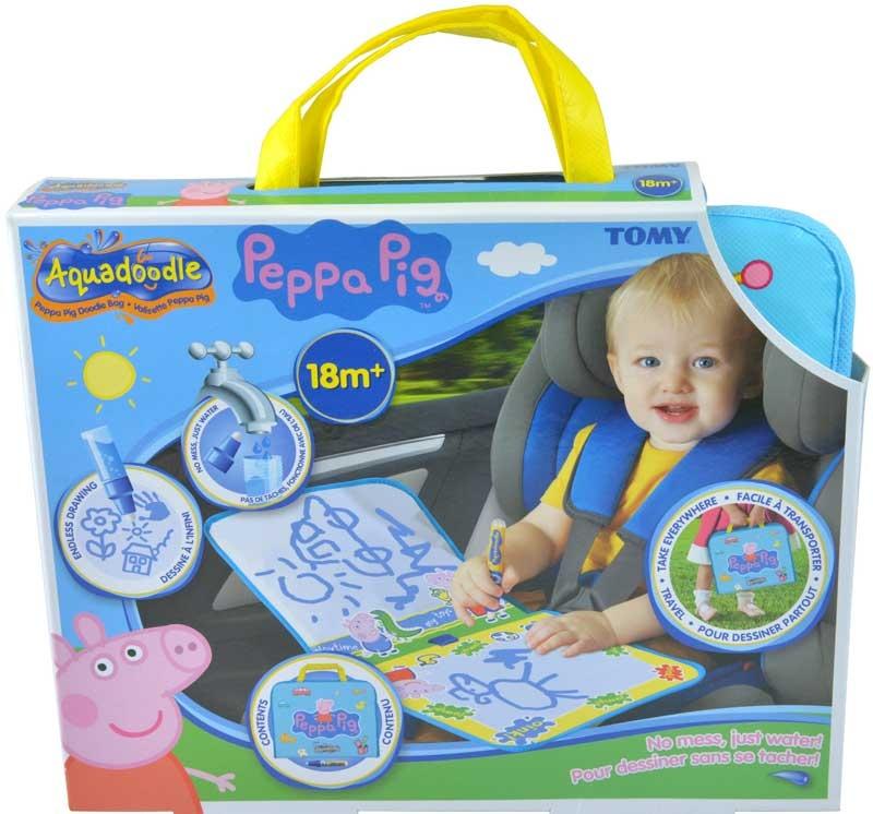 Wholesalers of Aquadoodle Peppa Pig Doodle Bag toys