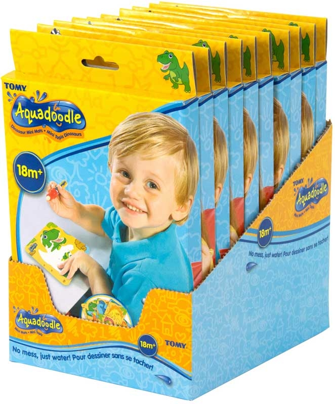 Wholesalers of Aquadoodle Zoo And Dino Mini Mat Cdu toys