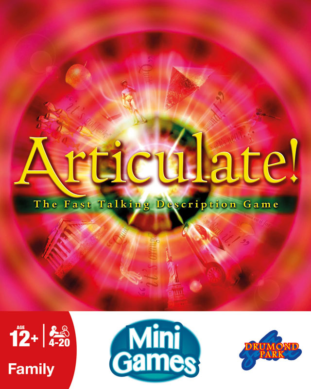 Wholesalers of Articulate Mini Game toys