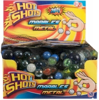 Wholesalers of Assorted Metallic Marbles toys image