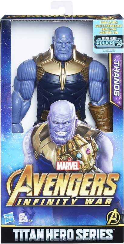 Wholesalers of Avengers 12in Titan Hero Series Thanos toys