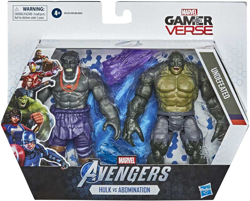 Wholesalers of Avengers 6in Hulk And Abomination toys