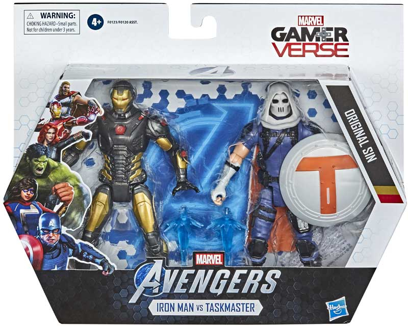 Wholesalers of Avengers 6in Iron Man And Task Master toys