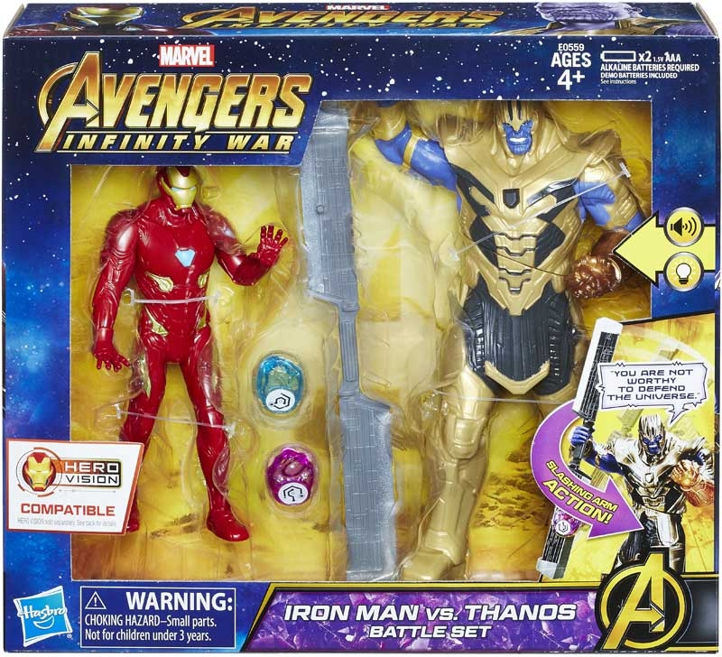 Wholesalers of Avengers 6in Iron Man Vs Thanos Battle Set toys