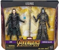 Wholesalers of Avengers 6in Legends Loki Vs Corvus Glaive toys Tmb