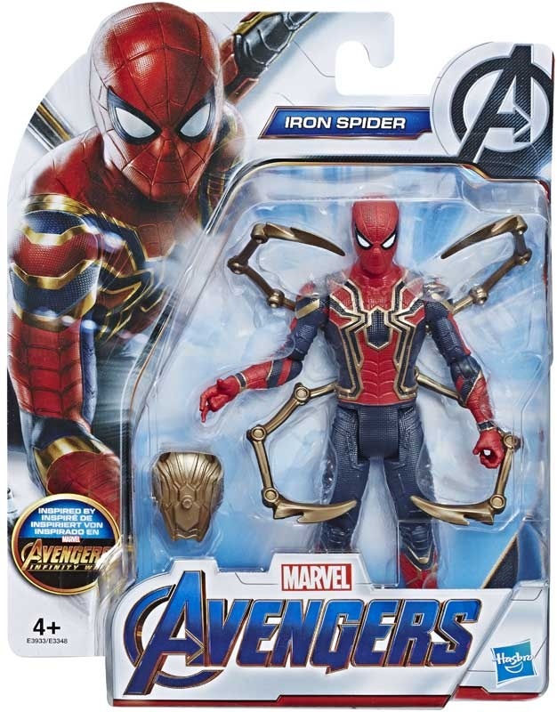 Wholesalers of Avengers 6in Movie Iron Spider toys