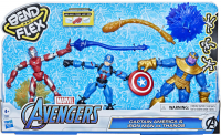 Wholesalers of Avengers Bend And Flex Cap And Im Vs Thanos toys image