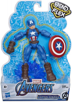 Wholesalers of Avengers Bend And Flex Captain America toys image