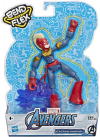 Wholesalers of Avengers Bend And Flex Captain Marvel toys image