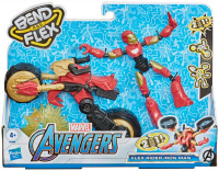 Wholesalers of Avengers Bend And Flex Flex Rider Iron Man toys image