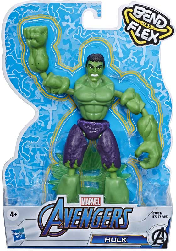 Wholesalers of Avengers Bend And Flex Hulk toys
