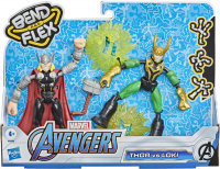 Wholesalers of Avengers Bend And Flex Thor Vs Loki toys image
