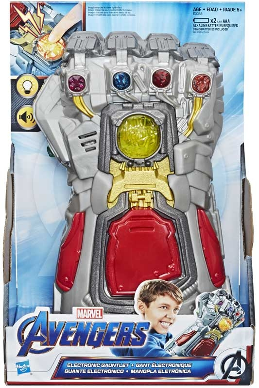 Wholesalers of Avengers Electronic Gauntlet toys
