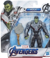 Wholesalers of Avengers Endgame 6in Movie Team Suit Hulk toys image