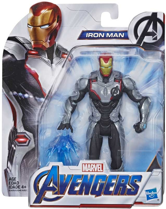 Wholesalers of Avengers Endgame 6in Movie Team Suit Iron Man toys