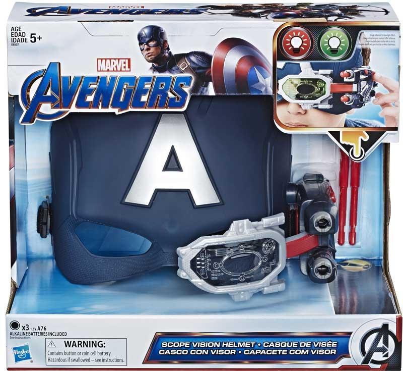 Wholesalers of Avengers Endgame Captain America Scope Vision Helmet toys